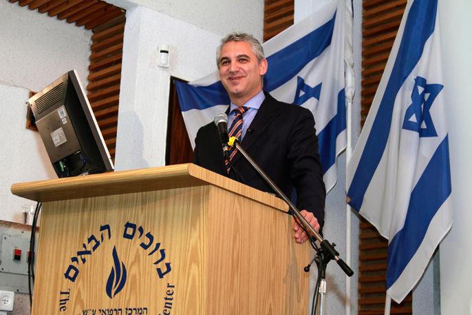 Dr. Samadi travels to Israel