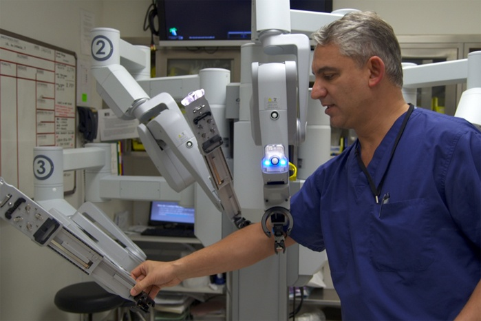 Robotic Prostate Surgery - History