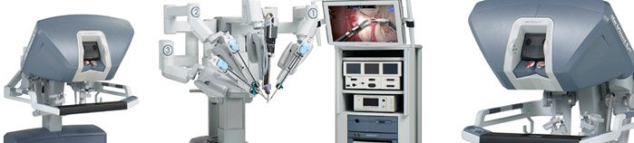 Da Vinci surgical system for prostatectomy