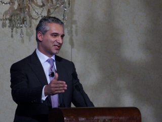 Dr. Samadi Speaks at the Harmonie Club