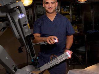 Dr. Samadi with Surgical Robot