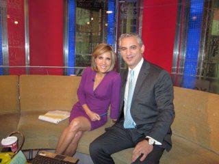 Dr. David B. Samadi with Alisyn Camerota
