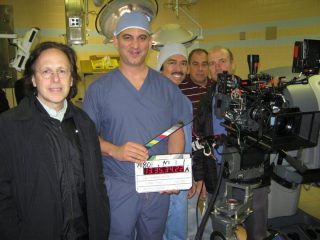 My first acting role in Law and Order with great Director Frank Prinzi and my nurse Alex Alamon.