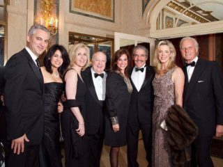 David B. Samadi with Roger Ailes, Geraldo Rivera, Heraldo Rvera and Debra Norville