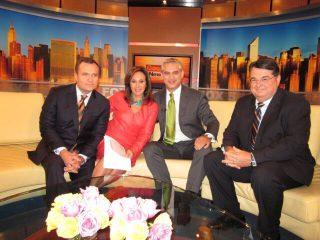 Dr. David B. Samadi with Greg Kelly and Rosanna Scotto