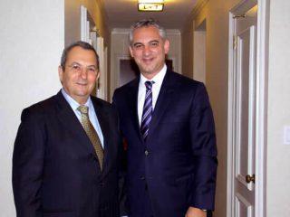 Dr. David B. Samadi with Ehud Barak