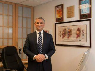 Dr. Samadi in His Office