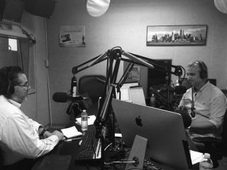 Dr. Samadi in the Studio
