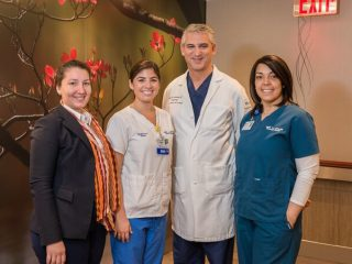 Dr. Samadi, Lenox Hill team